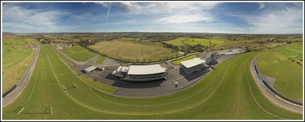 Aerial 360 panorama - Down Royal Race Course